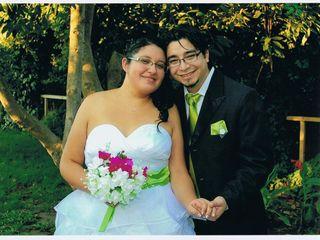 El matrimonio de Sebastian y Mitzi