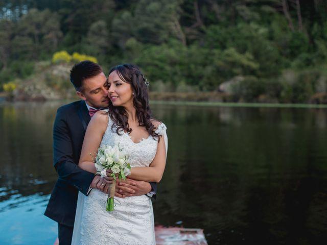 El matrimonio de Geraldine y Bernardo