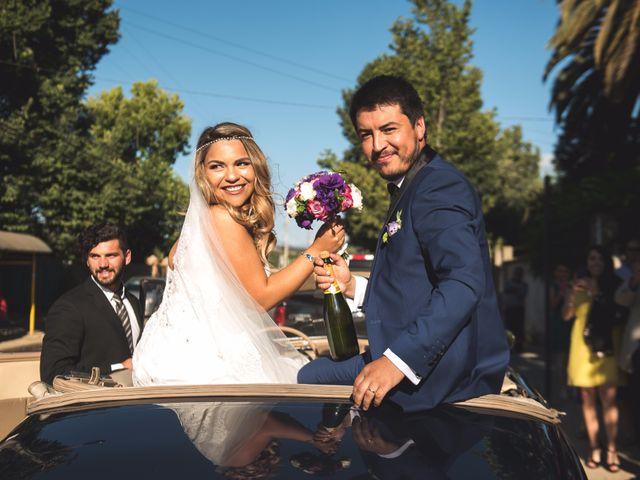 El matrimonio de Darinka y Cristian