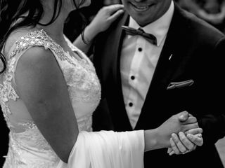 El matrimonio de Sebastián y Daniela