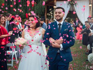 El matrimonio de Paulina y Alonso