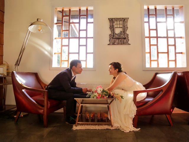 El matrimonio de Constanza y Elías
