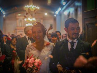 El matrimonio de Paulina y David