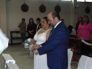 El matrimonio de Claudia y Juan Carlos 1