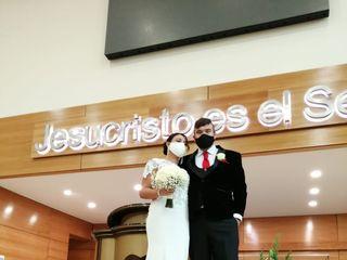 El matrimonio de David  y Cindy 1
