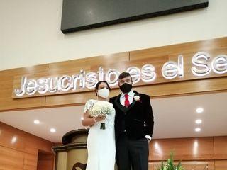 El matrimonio de David  y Cindy 2