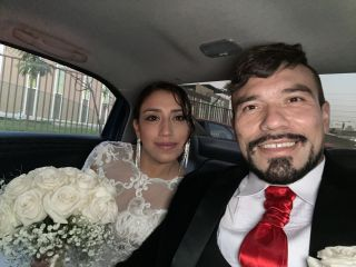 El matrimonio de David  y Cindy