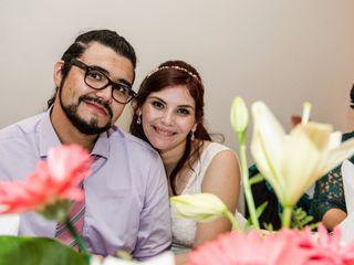 El matrimonio de Daniel y Glenda