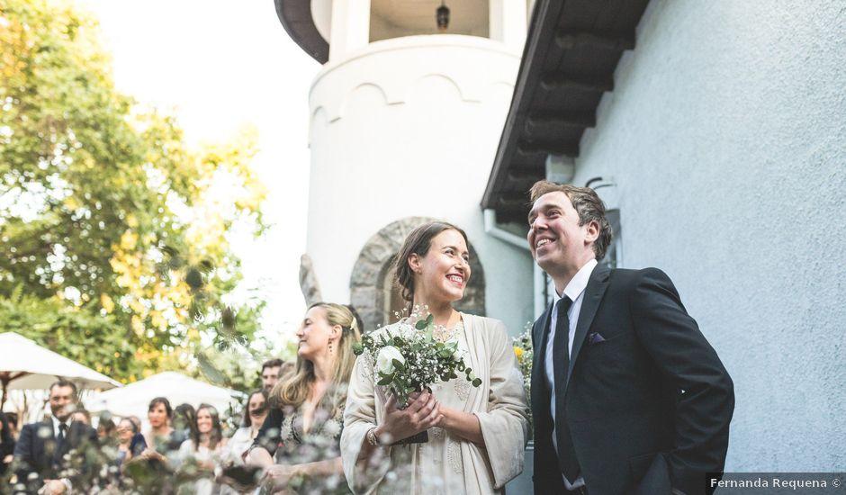 El matrimonio de Rodrigo y María Luisa en Santiago, Santiago