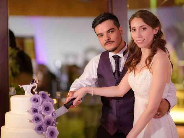 El matrimonio de Eled y Nicolás