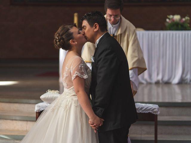 El matrimonio de Francisca  y Víctor