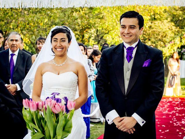 El matrimonio de Betsabé y Francisco