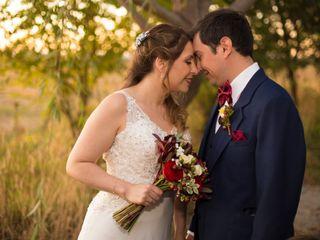 El matrimonio de Alejandra y Manuel