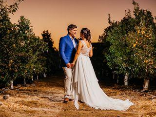 El matrimonio de Pamela y Luis
