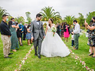 El matrimonio de Nicolás y Evelyn 1