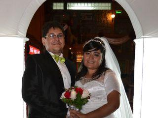 El matrimonio de Andrea y Mario