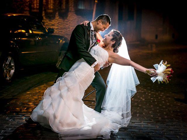 El matrimonio de Sandy y Adrián