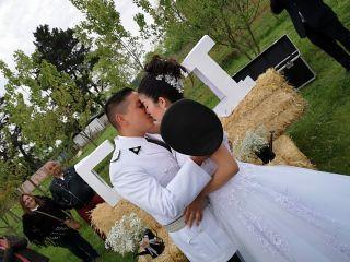 El matrimonio de Clovis  y Ivana