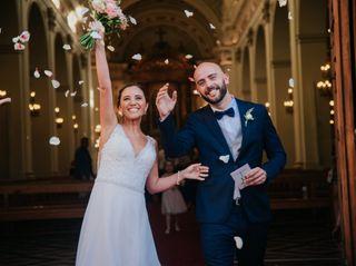 El matrimonio de Naty y Francisco
