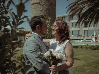 El matrimonio de Lizet y André