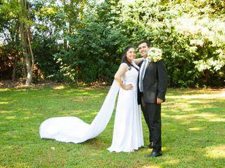 El matrimonio de Geraldy  y Francisco