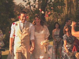 El matrimonio de Bárbara y Oscar