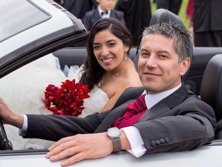 El matrimonio de Marcia y León