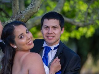 El matrimonio de Gabriela y Marco