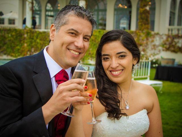 El matrimonio de León y Marcia en Casablanca, Valparaíso 1