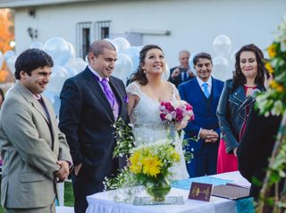 El matrimonio de Fernanda y Rene 1