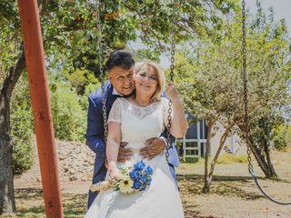 El matrimonio de Daniel y Érica