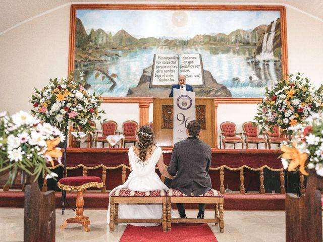 El matrimonio de Fernanda y Andrés