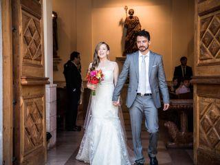 El matrimonio de Serena y Rodrigo
