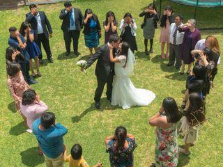 El matrimonio de Maria Jose Vasquez y Emilio Pizarro 1