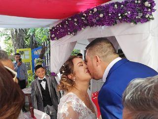 El matrimonio de Katerin y Marco