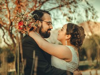 El matrimonio de Javiera y Cristian