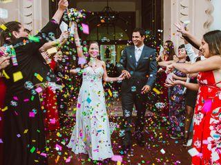 El matrimonio de Catalina y Rafael