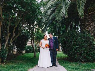 El matrimonio de Cecilia y Agustín