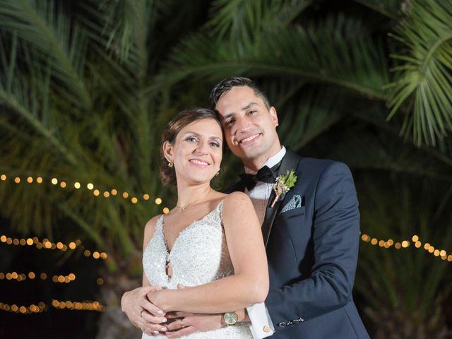 El matrimonio de Pía y Fernando