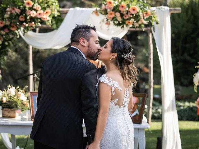 El matrimonio de Felipe y Tamara en El Monte, Talagante 22