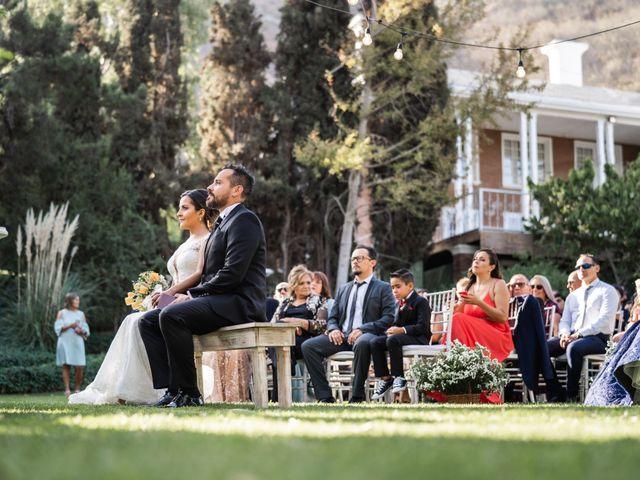 El matrimonio de Felipe y Tamara en El Monte, Talagante 24