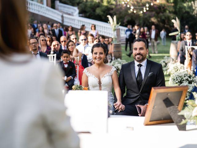 El matrimonio de Felipe y Tamara en El Monte, Talagante 25