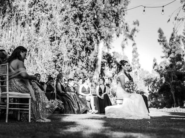 El matrimonio de Felipe y Tamara en El Monte, Talagante 26
