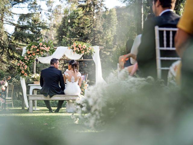 El matrimonio de Felipe y Tamara en El Monte, Talagante 28
