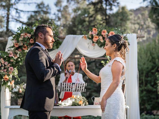El matrimonio de Felipe y Tamara en El Monte, Talagante 29