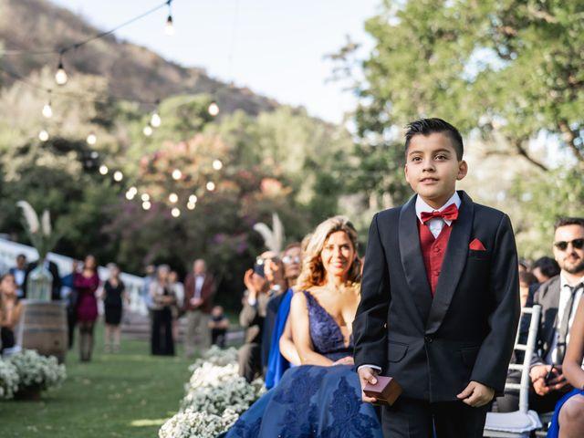 El matrimonio de Felipe y Tamara en El Monte, Talagante 30