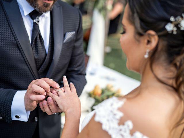 El matrimonio de Felipe y Tamara en El Monte, Talagante 31