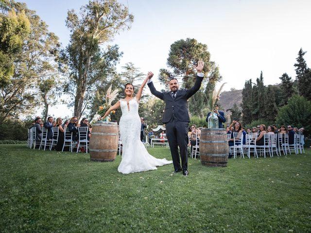 El matrimonio de Felipe y Tamara en El Monte, Talagante 32