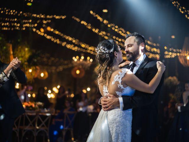 El matrimonio de Felipe y Tamara en El Monte, Talagante 46