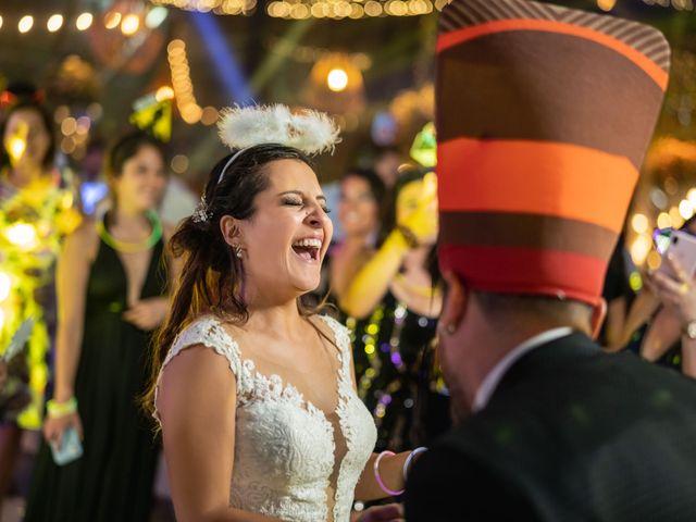 El matrimonio de Felipe y Tamara en El Monte, Talagante 58